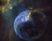 Is there anything in space more beautiful than the Bubble Nebula