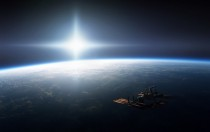 ISS Orbiting Earth Does anyone know the source of the image or if its real or a render