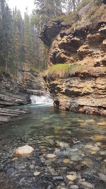 Johnson Canyon Stream in Banff National Park