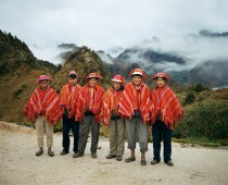 Joo Canziani  At the Inca Trail on the way to