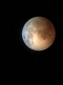 July  Australian lunar eclipse the photo of it at its peak was sadly deleted