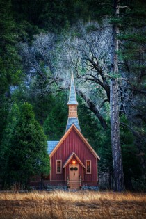 Little Church in Yosemite by Stuck in Customs
