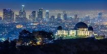 Los Angeles from the Griffith Observatory
