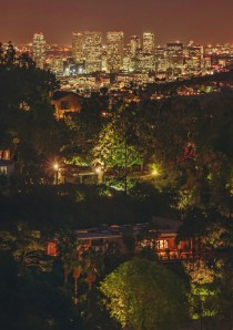 Los Angeles from the Hollywood Hills by Stuck in