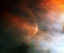 ly Bow Shock resulting from the impact of LL Orionis magnetosphere with the Orion Nebula flow