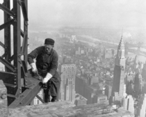 Manhattan NY lets appreciate many skyscrapers were created before safety wires