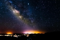 milkyway over grand canyon village