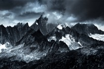 Monochromatic Alps  Austria and Switzerland