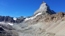 months of physical therapy took the trip to hike up close to the Matterhorn as my reward Zermatt SUI