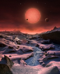 new Earth-sized exoplanets are orbiting the ultracool dwarf star TRAPPIST- located just  light-years away