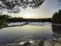 Noux national park Finland Love the outdoors on weekends