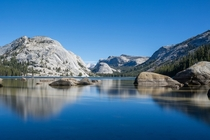 of the park visitors only visit the valley and miss views like this Tenaya Lake Yosemite NP