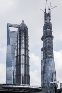 of the worlds top  tallest buildings - Shanghai
