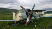 Old Antonov An- I think left to rust on romanian field