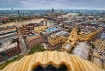Old London From Above by Stuck in Customs