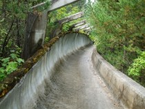 Olympic Bobsleigh and Luge Track Trebevi mountain Sarajevo