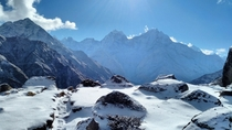 On the way to Gokyo Lakes Nepal