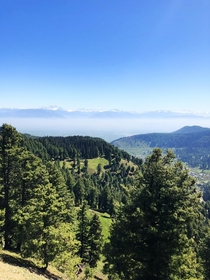 On the way to Gulmarg Kashmir India and stopped on the road to get this beautiful view