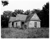 one of the few remaining houses in Florida Missouri