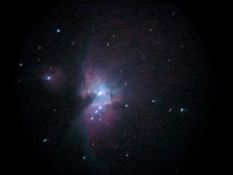 Orion Nebula shot on a Smartphone