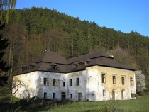 out of  abandoned castles in my village Slovakia It has been abandoned like this since the s
