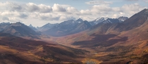 Panoramic view of Tombstone Territorial Park in the fall YT Canada x instagram rpdriscoll