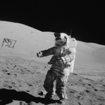 people have left low earth orbit Twelve of those have step on the moon This is Apollo  astronaut Harrison Hagan Jack Schmitt in what may be the last photo ever of someone on the moon