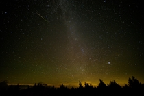 Perseid Meteor Shower  from West Virginia