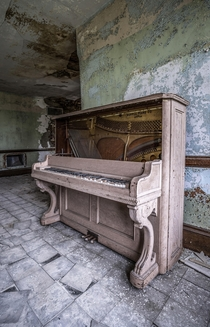 Piano in an Asylum Slated for Demolition