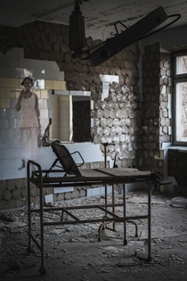 Pripyat hospital taken by me