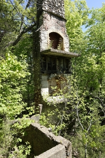 Remains of Hotel in Meramec State Park Missouri