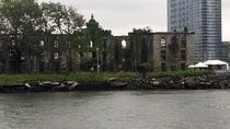 Roosevelt Islands Renwick Smallpox Hospital Manhattan New York  x
