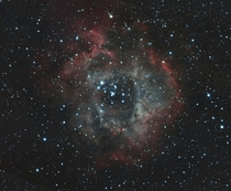 Rosette Nebula with a DSLR and Telescope
