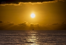 Sailing Under The Sun - Perfectly Timed Shot in Hawaii -