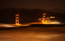 San Francisco in the Fog by Stuck in Customs