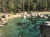 Sand Harbor - Lake Tahoe early Oct x