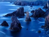 Sea Stacks  Outer Hebrides Scotland UK Jim