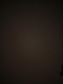 second exposure of the sky from my roof in the Indianapolis suburbs The more you zoom the more you see