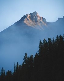 Silverhorn Mountain in Banff National Park Alberta zane__olson x