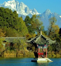 Snow Mountain in Lijiang Yunnan China  Pete