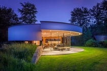 square meter circular villa located in the Netherlands