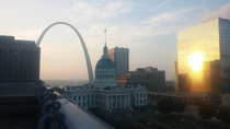 St Louis sunrise
