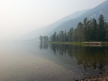 St Marys Lake BC Aug