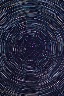 Star trail I took  month ago
