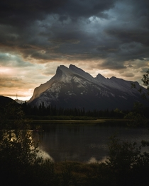 Sunrise at Vermillion Lakes - Banff National Park Alberta zane__olson x