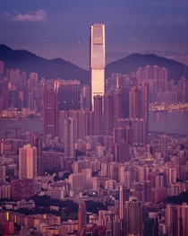 Sunrise Over Kowloon Hong Kong x