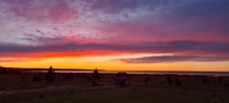 Sunset at Saaremaa Estonia