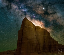 Temple of the Suns - Capitol Reef National Park