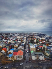 The beautiful city of Reykjavik