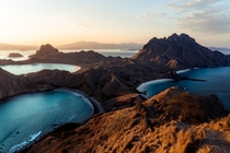 The insane landscape of Komodo National Park